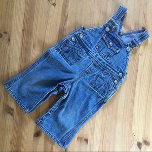 Levi's 12 mos denim jean overalls